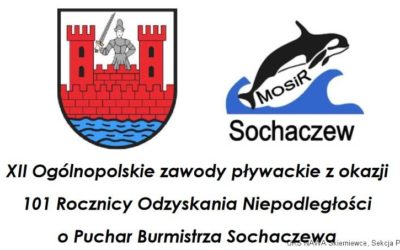 XII Ogólnopolskie Zawody Pływackie o Puchar Burmistrza Sochaczewa