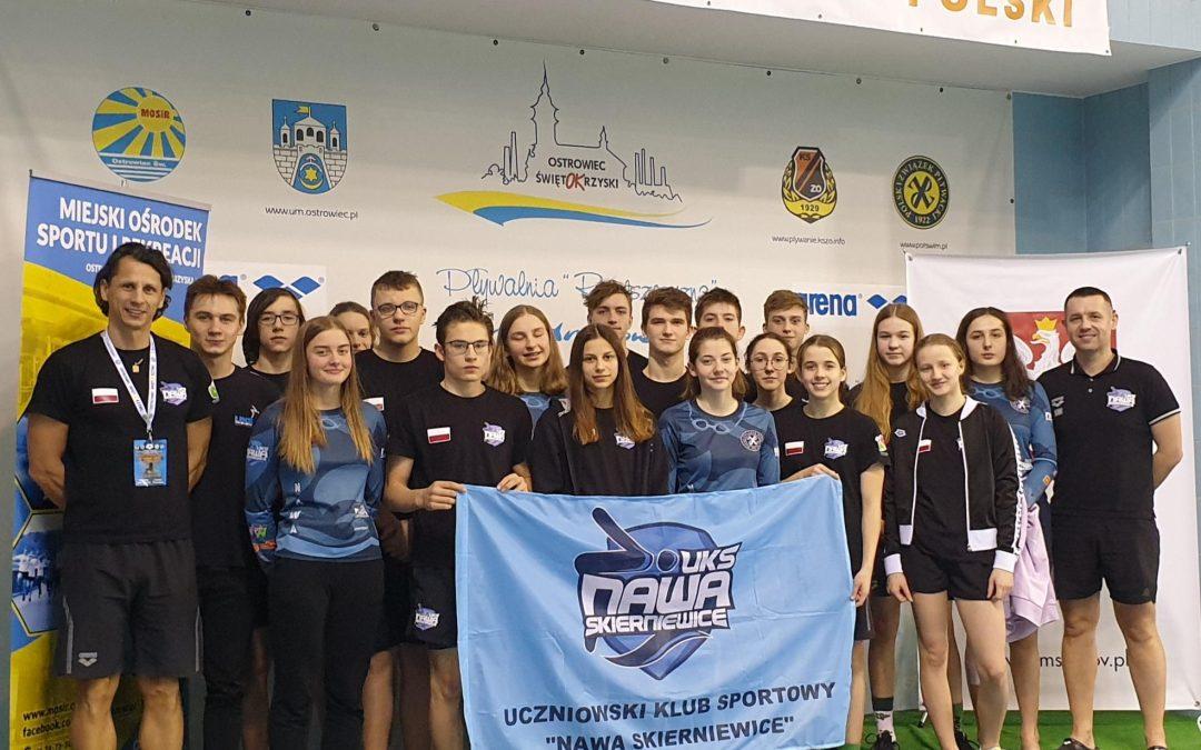 Grand Prix – Puchar Polski w pływaniu Ostrowiec Św. 2021